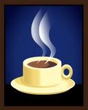 Een kop van espresso Stock Foto