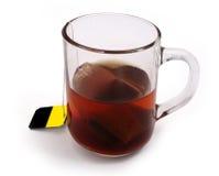 Een kop van hete thee Royalty-vrije Stock Foto's