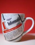 Een kop van Informations Royalty-vrije Stock Fotografie