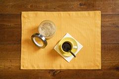 Een kop van koffie Royalty-vrije Stock Afbeeldingen