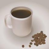Een kop van koffie Stock Afbeelding