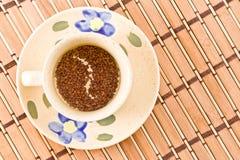 Een kop van koffie. Stock Afbeelding