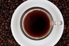 Een kop van koffie. Stock Foto's