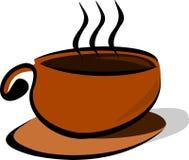 Een kop van koffie stock illustratie