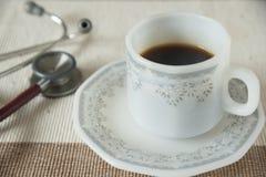 Een kop van koffie Stock Afbeeldingen