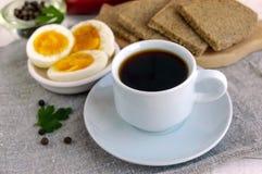 Een kop van sterke koffie & x28; espresso& x29; Royalty-vrije Stock Foto