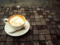 Een kop van Thaise thee Stock Afbeelding