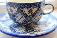 Een kop voor thee Stock Foto's