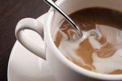 een kopkoffie Royalty-vrije Stock Foto's