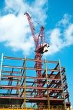 De Kraan van de bouw Royalty-vrije Stock Afbeelding