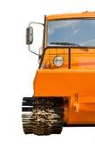 Een krachtig vrachtwagenvoertuig geschikt voor elk terrein. Stock Foto's