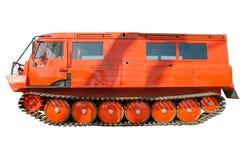 Een krachtig vrachtwagenvoertuig geschikt voor elk terrein. Royalty-vrije Stock Afbeelding