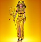 Een krachtige Egyptische vrouw royalty-vrije stock foto
