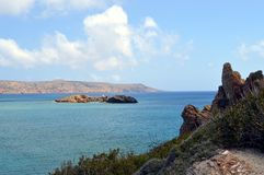 Een kreek in Kreta Stock Fotografie