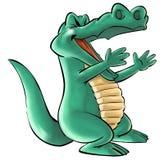 Een krokodil Stock Foto
