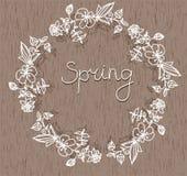 Een kroon van bloemen Royalty-vrije Stock Fotografie