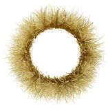 Een kroon van droog Gouden gras Stock Foto