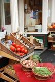Een kruidenierswinkelopslag Stock Foto