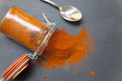 Een kruik paprika royalty-vrije stock afbeelding
