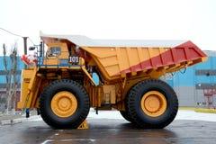 Een laadvermogen is 220 ton Royalty-vrije Stock Foto's