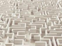 Eindeloos Labyrint Stock Afbeelding