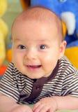 Een lachende baby Royalty-vrije Stock Foto
