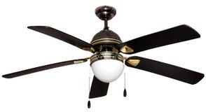 Een lamp met opgezette propeller Stock Afbeelding