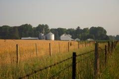 Een landbouwbedrijf Stock Foto