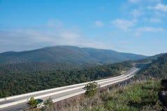 Een landelijk Viaduct Tusen staten in Virginia royalty-vrije stock afbeelding