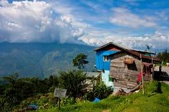 Een landschap in Darjeeling Stock Afbeelding