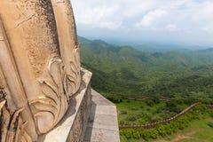 Een landschap van Chittorgarh-Fort, Rajasthan, India royalty-vrije stock afbeeldingen
