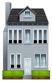 Een lang gebouw Royalty-vrije Stock Afbeelding