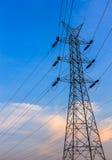 Een lange elektrotoren Stock Foto's