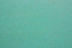 Een leeg blad van document of triplex groene kleur royalty-vrije stock foto's