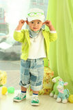 Een leuk jong geitje van China Royalty-vrije Stock Foto