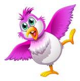 Een leuke kleurrijke vogel royalty-vrije illustratie
