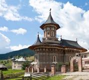 Een leuke, nieuwe en kleine kerk Royalty-vrije Stock Afbeelding
