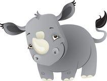 De rinoceros van de baby Stock Foto