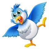 Een leuke vogel Stock Afbeeldingen
