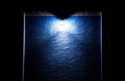 Een licht in dark Stock Fotografie
