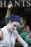 Een lid van het Babolin-Theater bij het de Randfestival 2013 van Edinburgh Royalty-vrije Stock Afbeelding