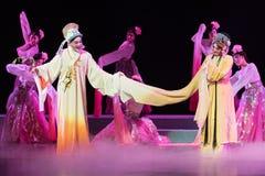 """Een lijn van huwelijk - het Pioenpaviljoen--jiangxi opera""""four dromen van linchuan† Stock Afbeeldingen"""