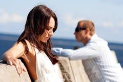 Een man en een vrouw Royalty-vrije Stock Foto's