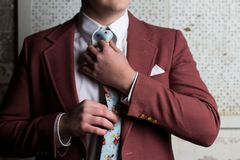 Een man kostuum Stock Fotografie
