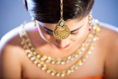 Een mannequin met juwelen royalty-vrije stock foto