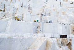 Een marmeren steengroeve van Carrara Royalty-vrije Stock Foto