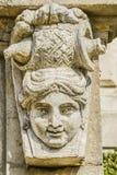 Een masker van steen Royalty-vrije Stock Fotografie