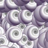 Een massa Krullen Vector Illustratie