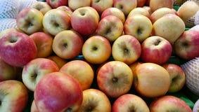 Een massa van appel stock foto