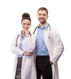Een medisch team van artsen Stock Foto's